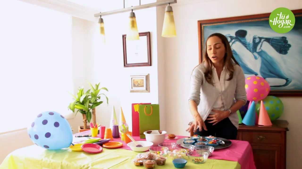 Ideas para una linda fiesta infantil sin gastar mucho - Ideas para fiestas en casa ...