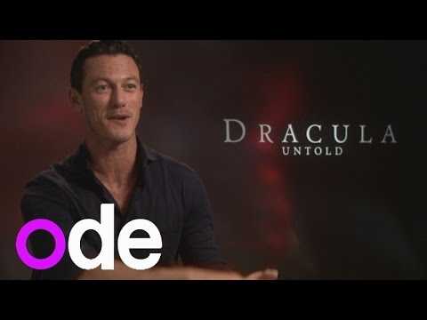 Luke Evans 'overwhelmed' while filming Dracula Untold