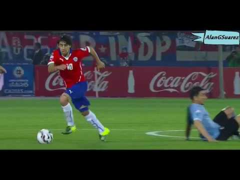 Jorge Valdivia caño a Fucile Thug Life! Chile vs Uruguay Copa America 2015
