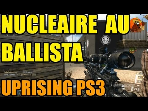 Nuclaire au Ballista sur Studio | Black ops 2 uprising sniper nucleaire gameplay ps3