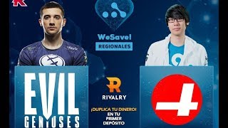 GRAN FINAL: Evil Geniuses vs. CR4ZY - WeSave! Charity Play