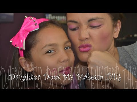 Daughter Does My Makeup TAG!!! @rosemarie627