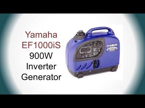 Yamaha EF1000iS Portable Inverter Generator Review