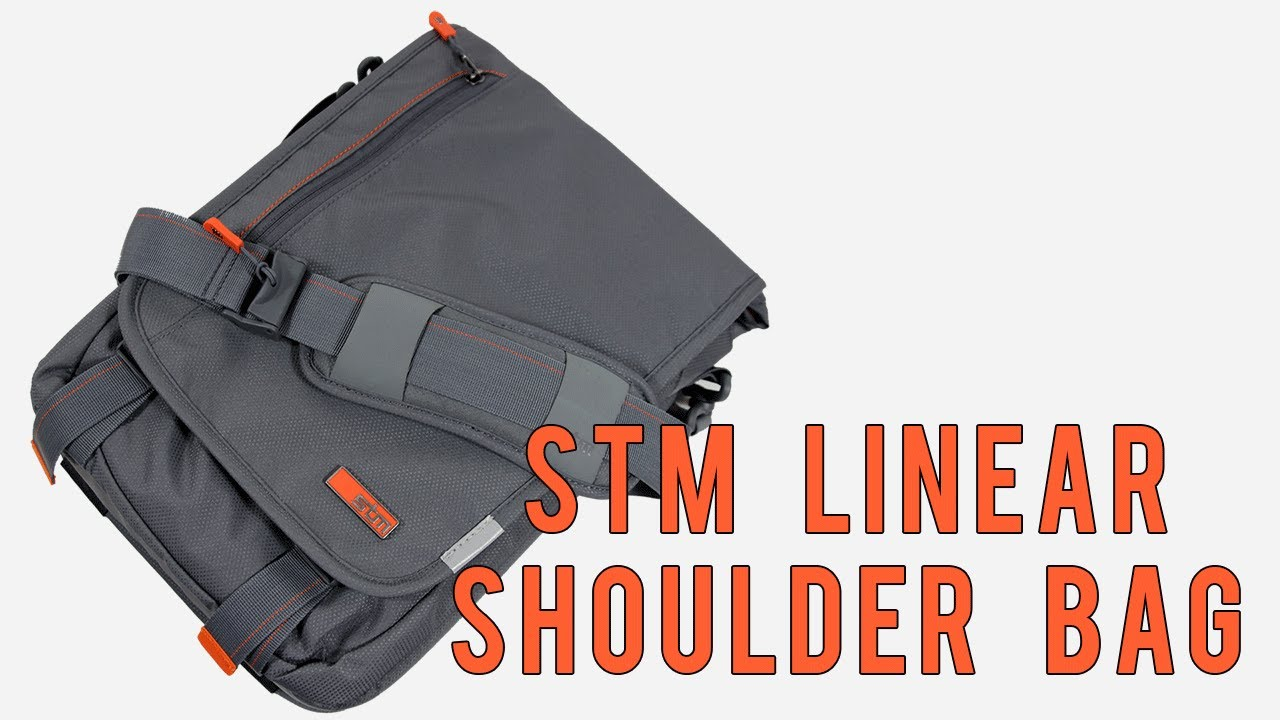 Linear Small Laptop Shoulder Bag 114