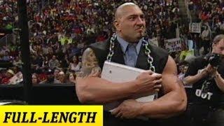Batista's WWE Debut - May 9, 2002