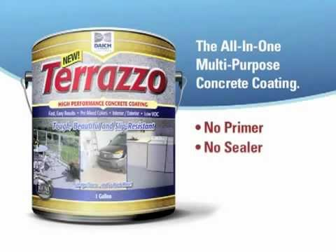 Terrazzo Concrete Coating from Daich Coatings - available at World of Stains