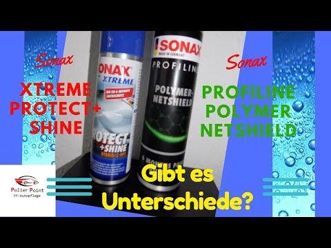 Unterschied-Sonax Protect & Shine und Sonax Polymer Netshield?
