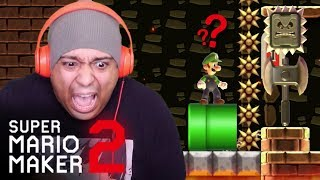 WHY WOULD THEY TORTURE ME LIKE THIS!!? [SUPER MARIO MAKER 2] [#17]