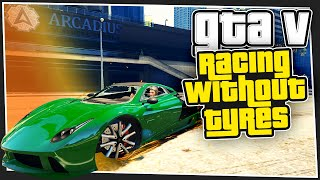 GTA 5 Online - Racing Without Tyres (Custom Games)