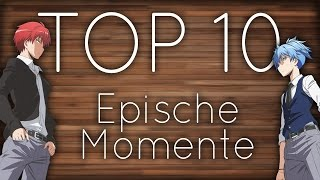 TOP 10 Momente in Assassination Classroom [German/HD]