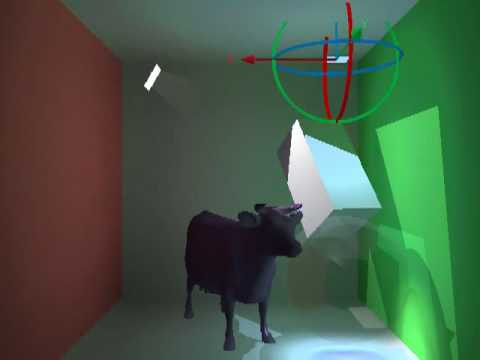 Hardware-Accelerated Global Illumination by Image Space Photon Mapping