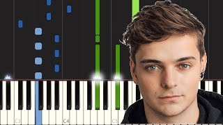 Martin Garrix Ft Mike Yung Dreamer Piano Tutorial