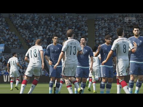 EA SPORTS FIFA 16 - 2014 FIFA World Cup: Germany v Argentina [1080p 60FPS HD]