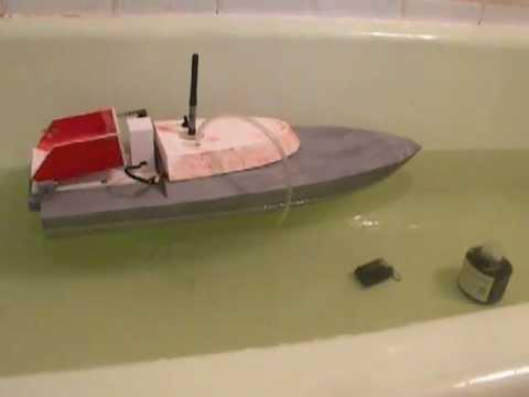 Кораблик из пенопласта с моторчиком своими руками 182