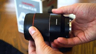 Samyang AF 35mm f/1.4 FE lens review with samples