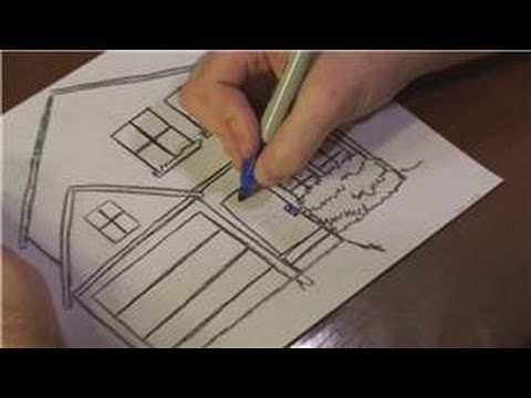 Christmas Inside House Drawing to Draw a Christmas House