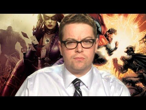 Killing comic book legends injustice