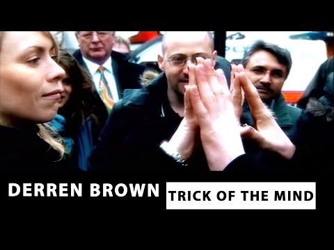 Nail up the Nose - Derren Brown: Trick of the Mind
