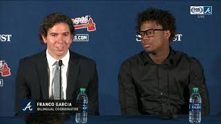 Full Ronald Acuña Jr. contract extension press conference