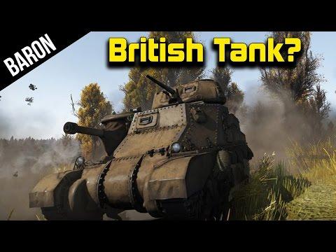 War Thunder Tanks - M3 Grant, British Tanks* - Multi Gun Tank Controls