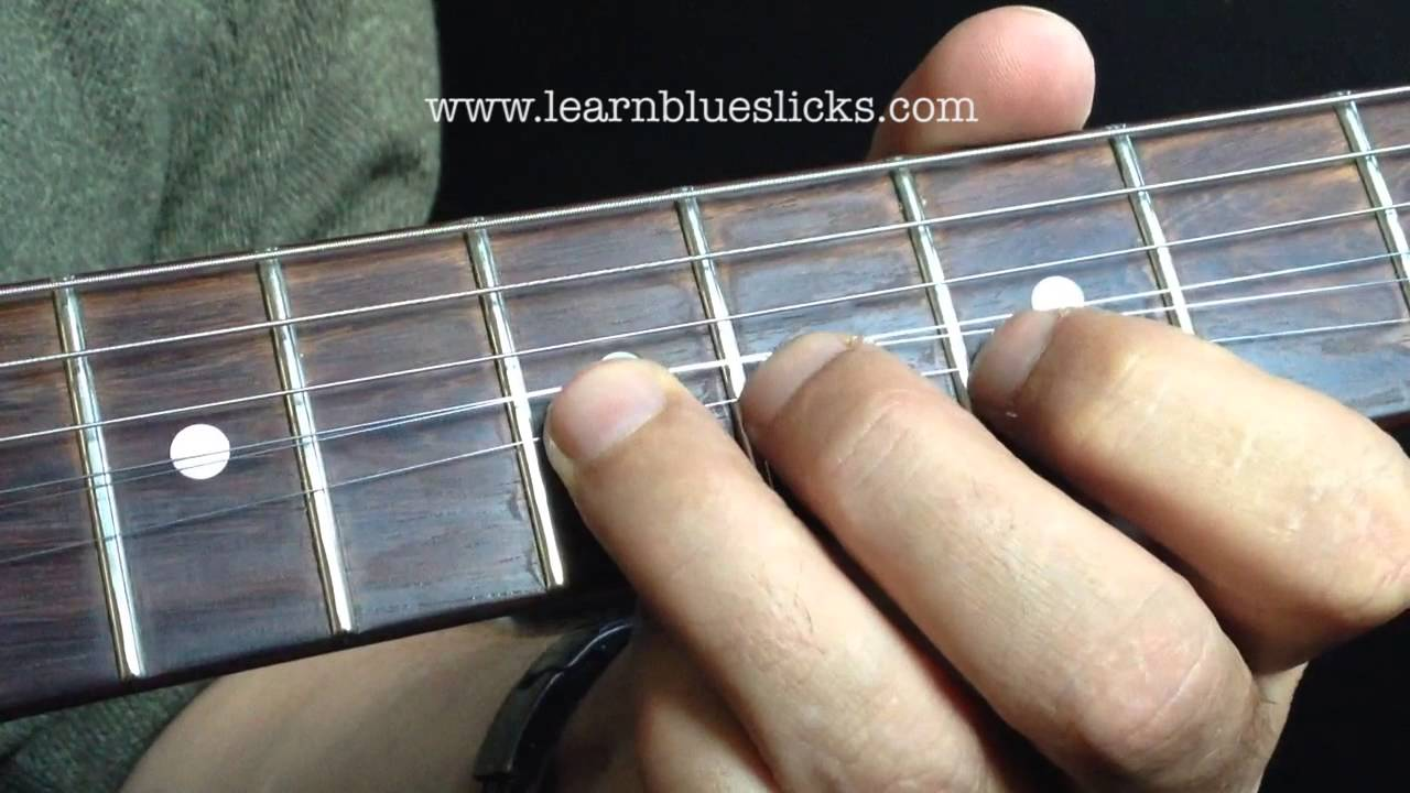 Slow blues lick better