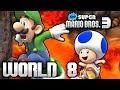 New Super Mario Bros. 3+ Part 8 - World 8 (4 Player) MP3