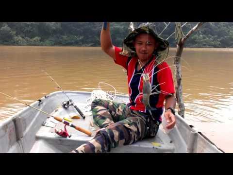 Jongkong Kaki Pancing (Bukit Kepung JOHOR) - Udang Mengena Mata Kail