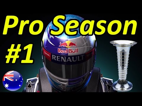F1 2015 Pro Season Mode Part 1: Australian Grand Prix