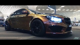 CLA45 AMG Widebody Surprise 1967 Shelby GT500CR Short Movie.