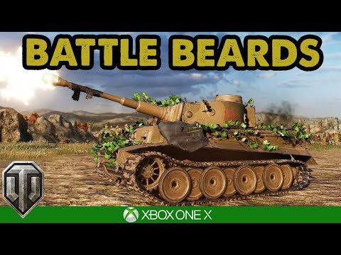 WoT / HEAVY LADS - Battle Beards  / Xbox One X