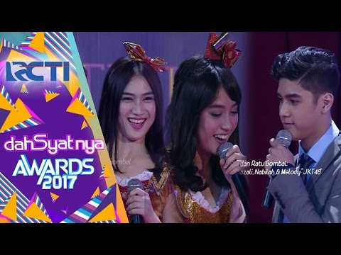 Al Ghazali, Nabilah & Melody JKT 48 Jadi Raja & Ratu Gombal | Dahsyatnya Awards 2017 | 25 Jan 2017