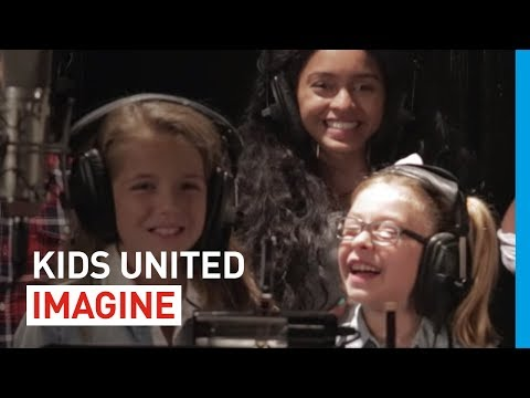 "KIDS UNITED pour l'UNICEF - ""Imagine"" (Lyrics en français)"