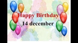 14 december special happy birthday status birthday