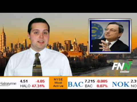 News Update--Markets Lower Over ECB Maintaining Current Interest Rates
