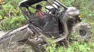 Can-am Defender HD-10 Operation Muskeg Firewood