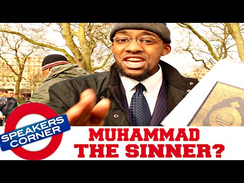 Ex Muslim (Christian) Says Muhammad Was A Sinner? | Speakers Corner