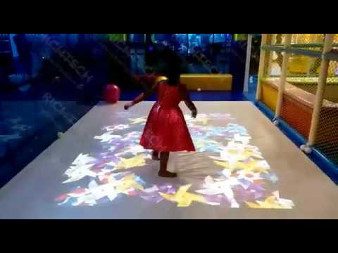 RichTech Interactive Floor for Children's Playground at Malaysia