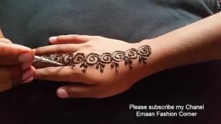 Latest Mehndi Designs For Girls and Beautiful Kids 2016 HD