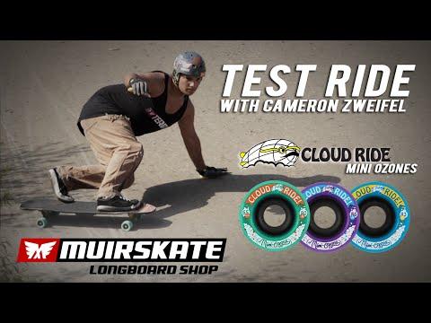 Test Ride Cloud Ride Mini Ozones with Cameron Zweifel | MuirSkate Longboard Shop