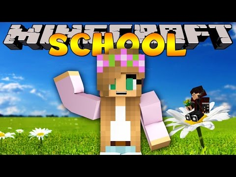 Minecraft School : A Girl Joins The Class! video