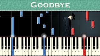 Download Lagu NF - Goodbye | Piano instrumental | Tutorial Gratis STAFABAND