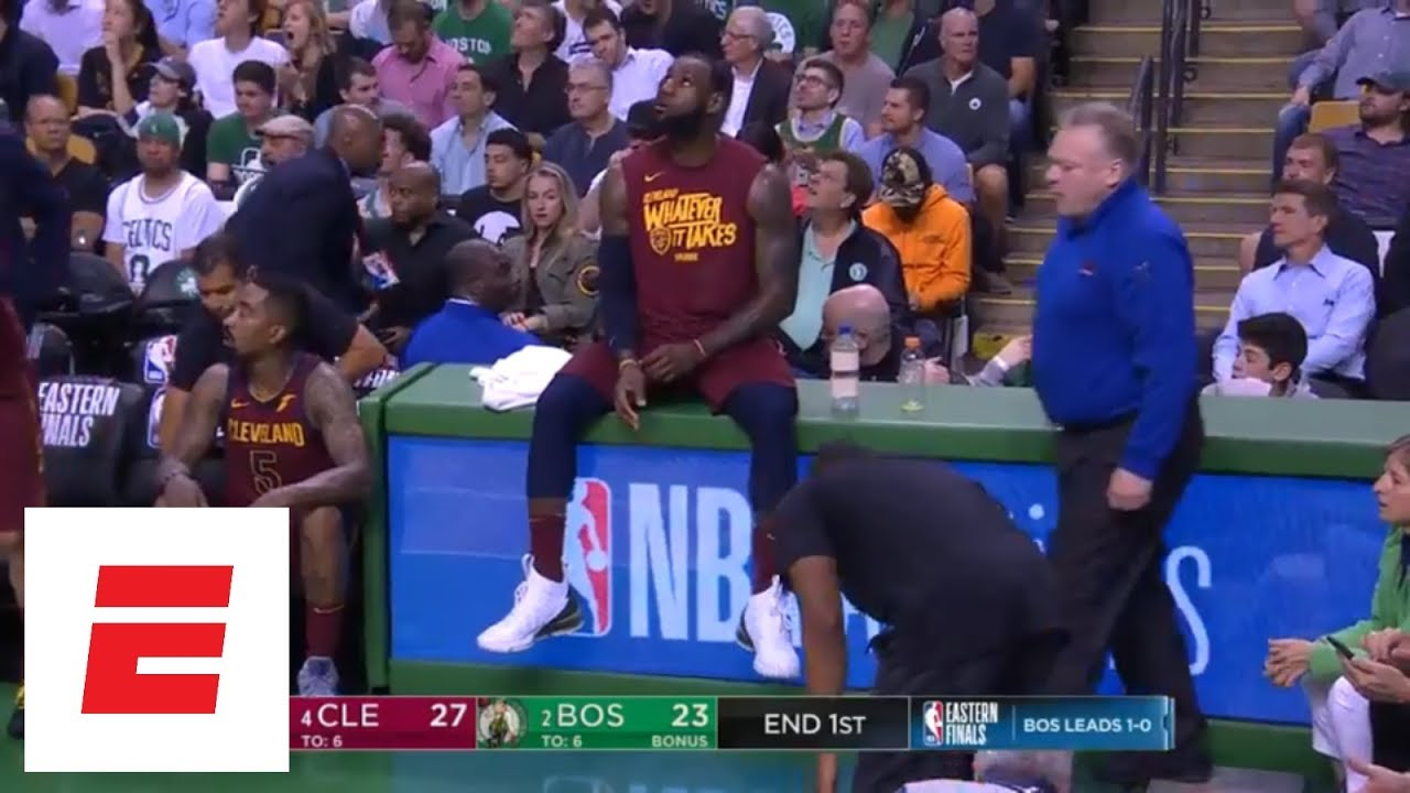 LeBron James scores 21 points in first quarter of Game 2 vs. Celtics | ESPN