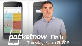 Google Keep Android Notes, iOS 6.1.3 Security Bugs, Pandora on WP8 & More - Pocketnow Daily