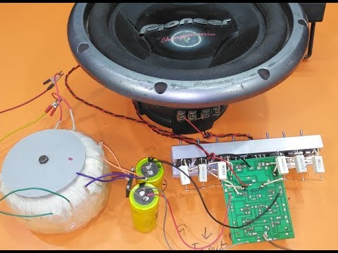how to add more transistor to your amplifier part 2 thumbnail