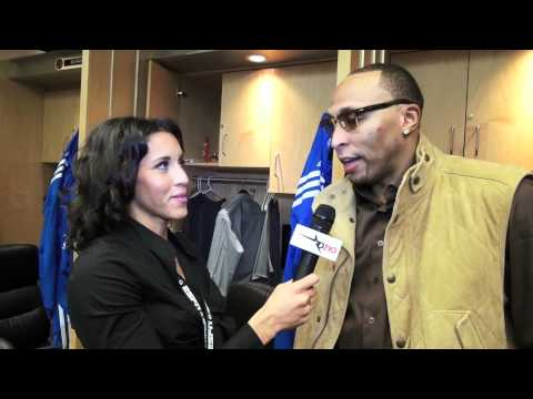 Dallas Mavericks Shawn Marion Talks About The Double OT Win Over Portland