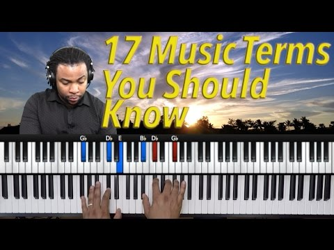 #20: 17 Music Terms You Should Know