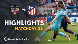Highlights Levante UD vs Atletico Madrid (2-2)