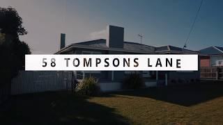 SOLD USING VIDEO - 58 Tompsons Lane, Newnham - Justin Goebel