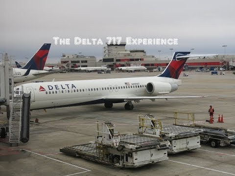 The Delta Air Lines Boeing 717 Flight Experience