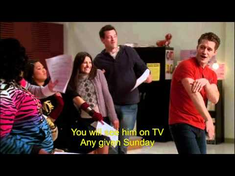 Glee - Gold Digger Lyrics [HD]